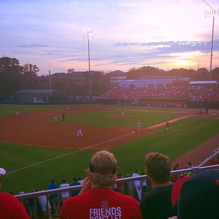 Amy Jones's photo of Cheer on the Pack at an NC State Baseball Game