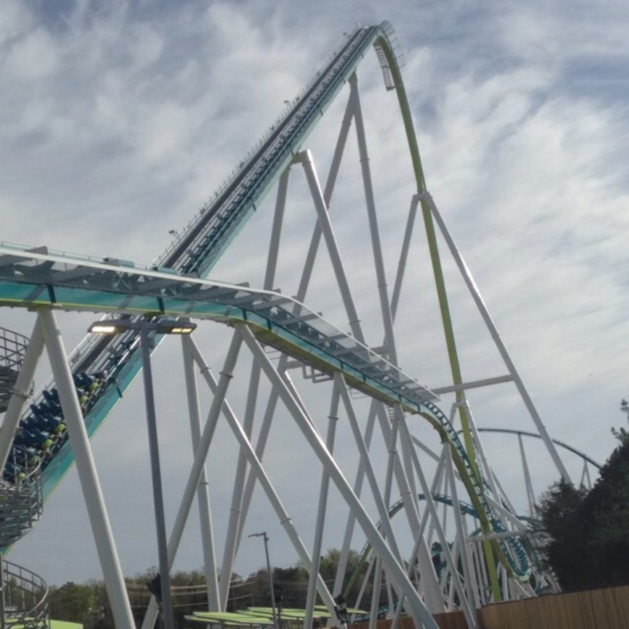 Shawnice Rebecca Curtis's photo of Ride The World's Tallest Rollercoaster