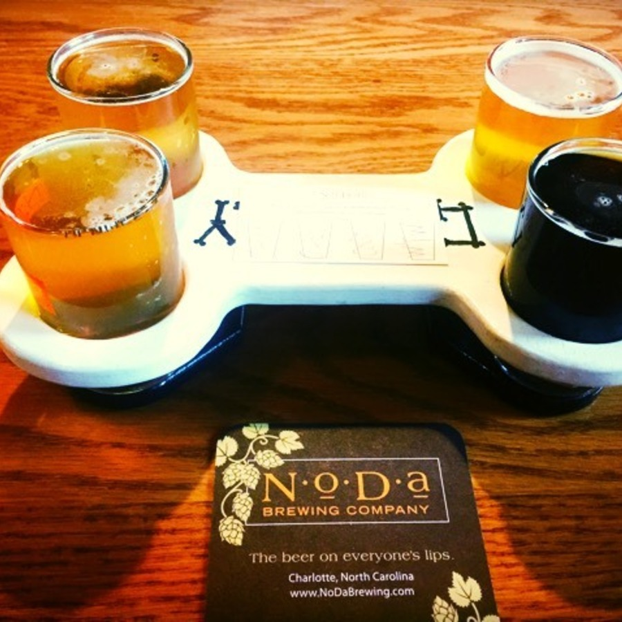 Megan Robbins's photo of Guzzle Great Brews at NoDa Brewing Co.