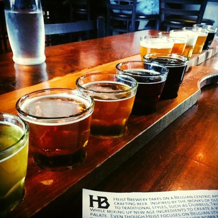 Megan Robbins's photo of Tapas & Tasty Beer at Heist Brewery