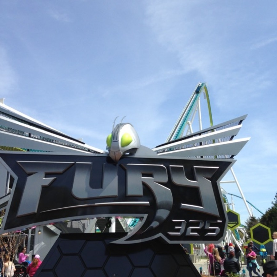Kelsey Davis's photo of Ride The World's Tallest Rollercoaster