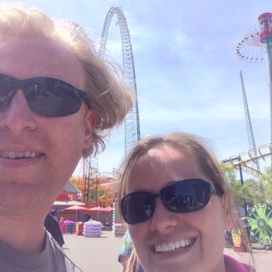 Shanon Carter's photo of Take Care of Your Thrill Craving at Carowinds