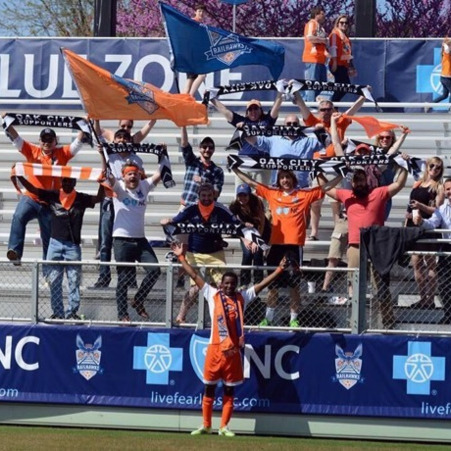 Katy Campbell's photo of Cheer for the North Carolina FC