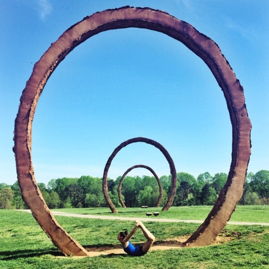 Stephanie Shaner's photo of Visit the NC Museum of Art Park