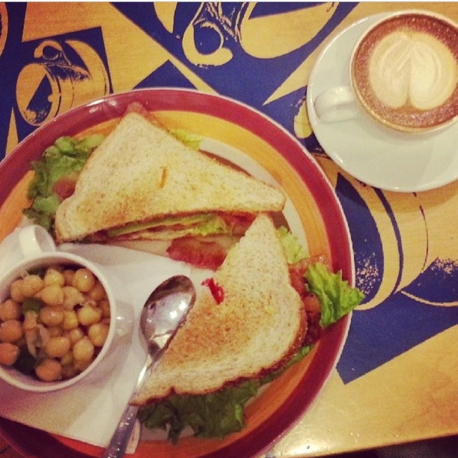 Sarah Murphy's photo of Sip on Something Special at New World Coffee