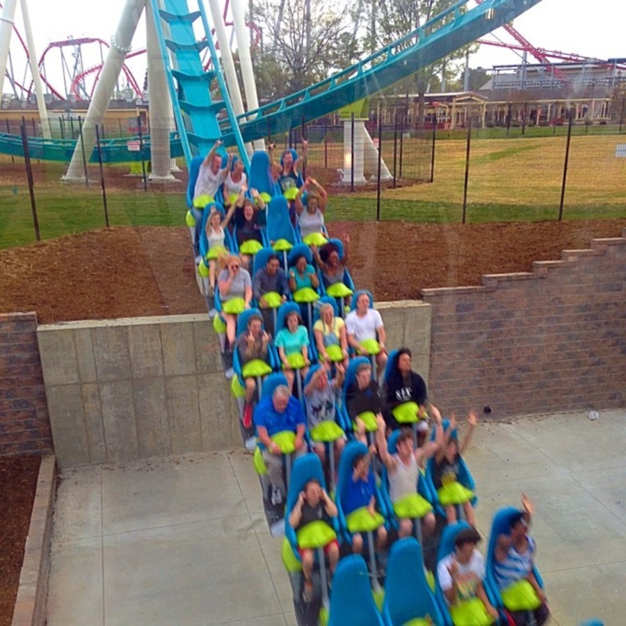 Christine Amato's photo of Ride The World's Tallest Rollercoaster