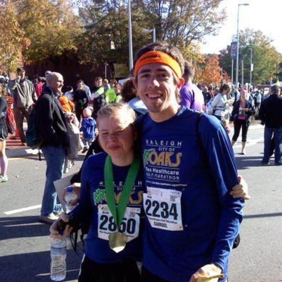 Sam Koballa's photo of Run the City of Oaks Marathon