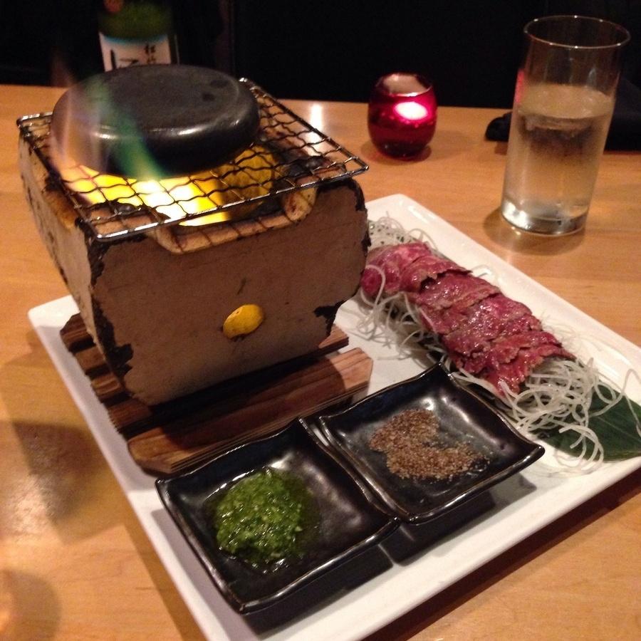 Liz Meyers's photo of Cook Ishiyaki BBQ at Your Table
