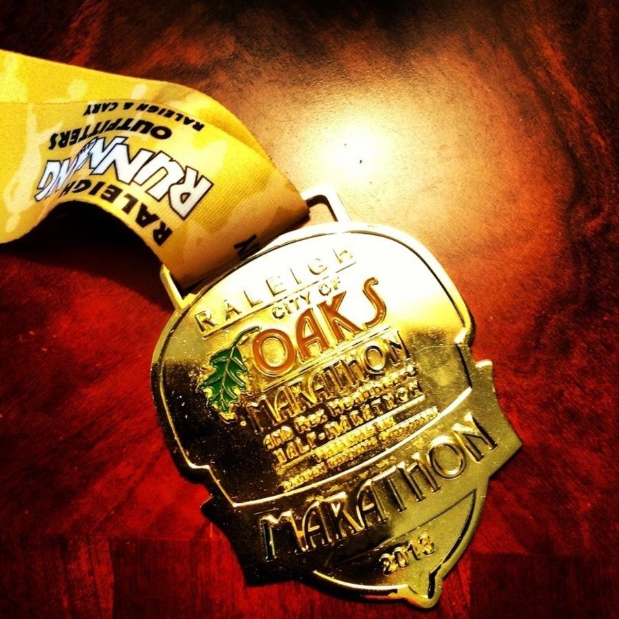 John Huisman's photo of Run the City of Oaks Marathon