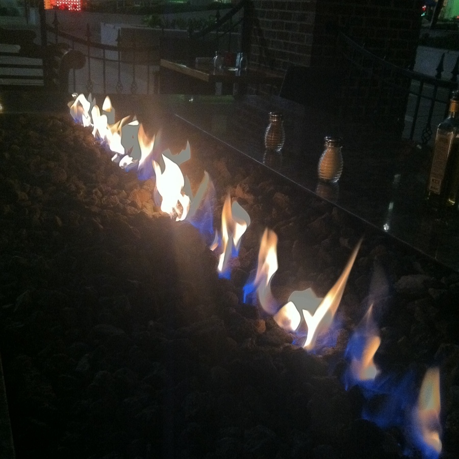 Brittany Brower's photo of Fireside Dining in the Heart of Downtown