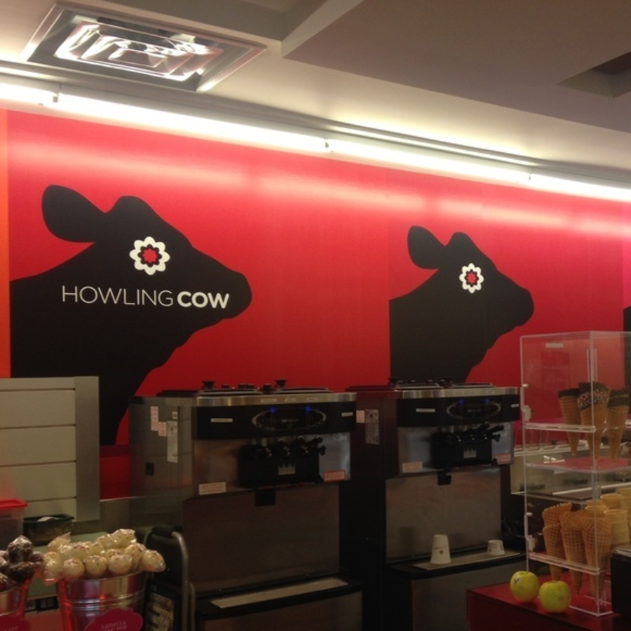 Kristen Baughman's photo of Enjoy a Scoop of Howling Cow Ice Cream
