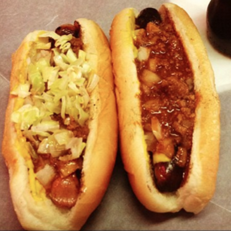 Kristen Baughman's photo of Eat a Historic Hot Dog at Roast Grill