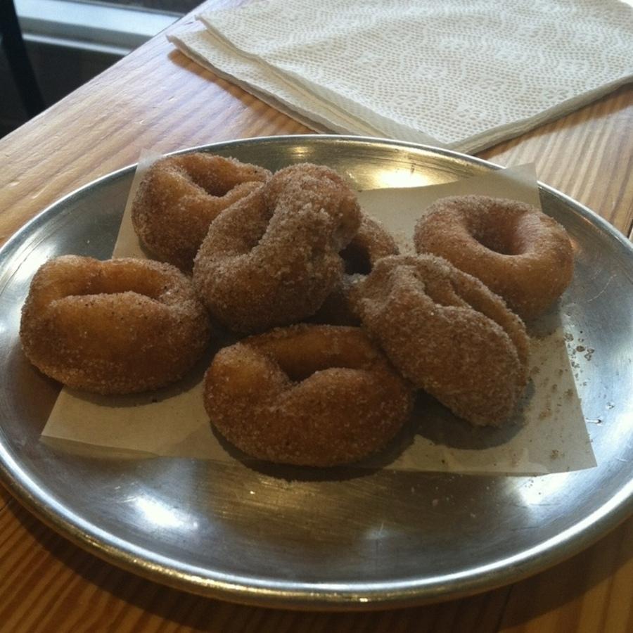 Johnna Swartz's photo of Savor Tasty Coffee & Mini Donuts at Sola