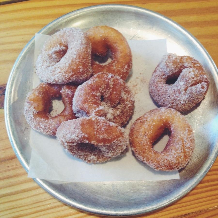 Reagan Johnson's photo of Savor Tasty Coffee & Mini Donuts at Sola