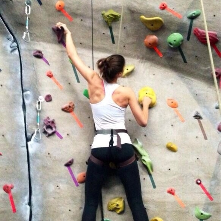 Stephanie Shaner's photo of Take a Rock Climbing Class at TRC