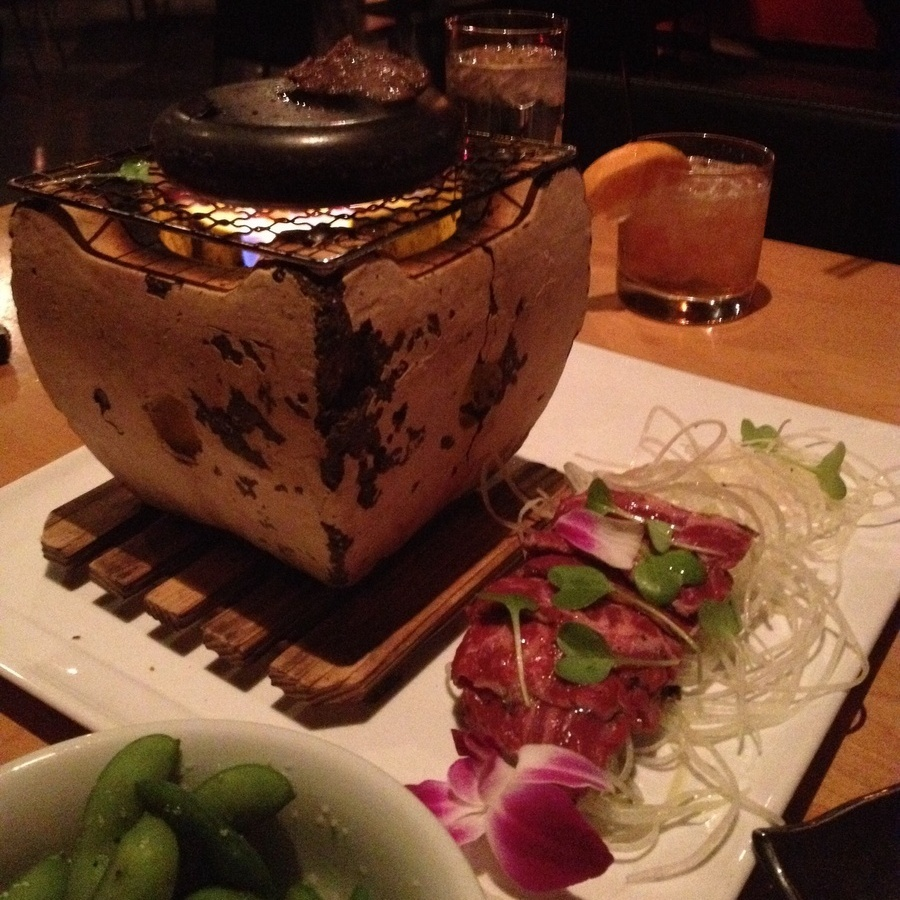 Erica Ellis Pittman's photo of Cook Ishiyaki BBQ at Your Table