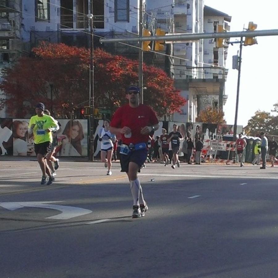 Jason Hibbets's photo of Run the City of Oaks Marathon