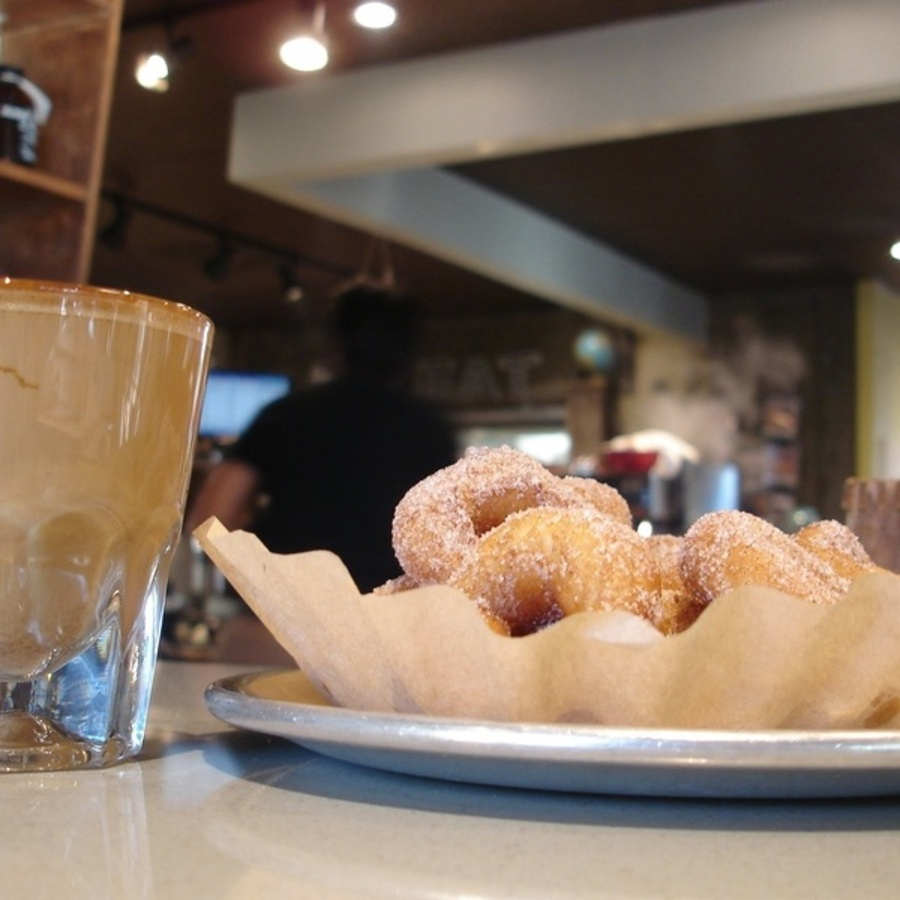 John Huisman's photo of Savor Tasty Coffee & Mini Donuts at Sola