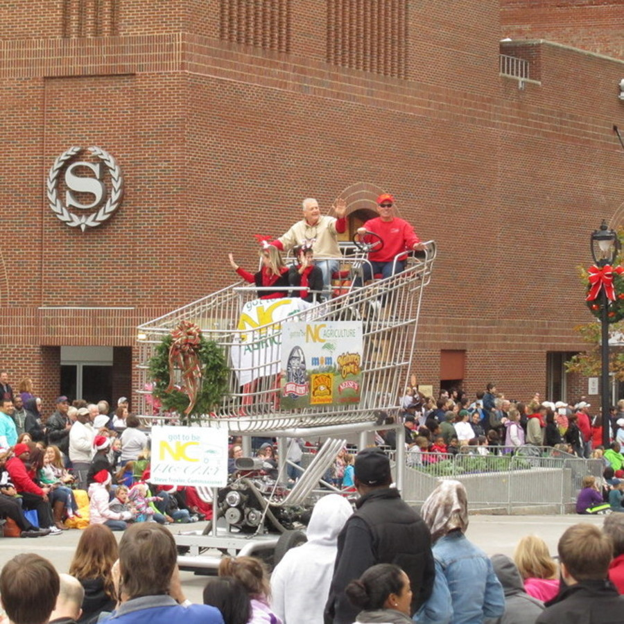 Amber Brennan's photo of Catch Some Holiday Cheer at the Raleigh Christmas Parade