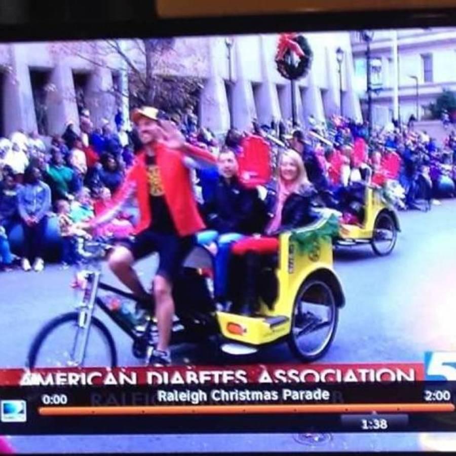 Ashley Brackett's photo of Ride a Rickshaw in Downtown Raleigh