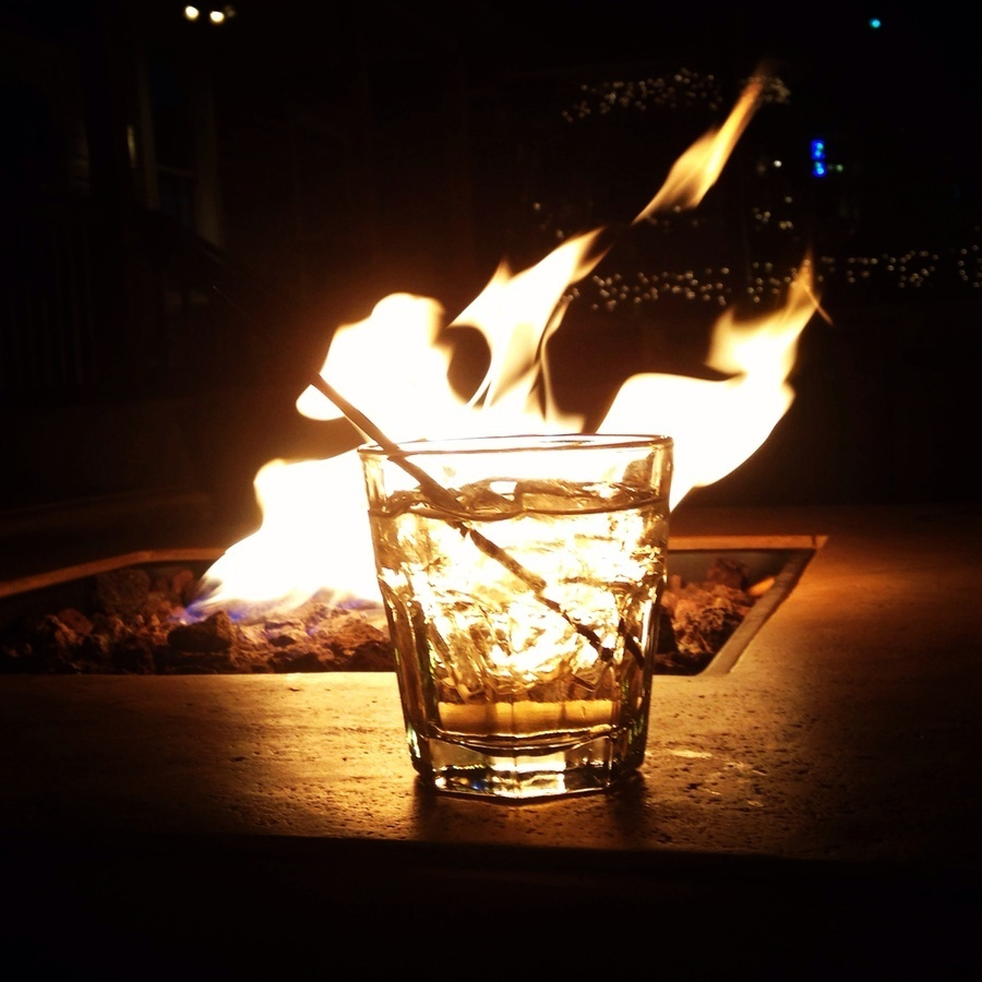 David Brower's photo of Drinks by the Fire at Cornerstone Tavern