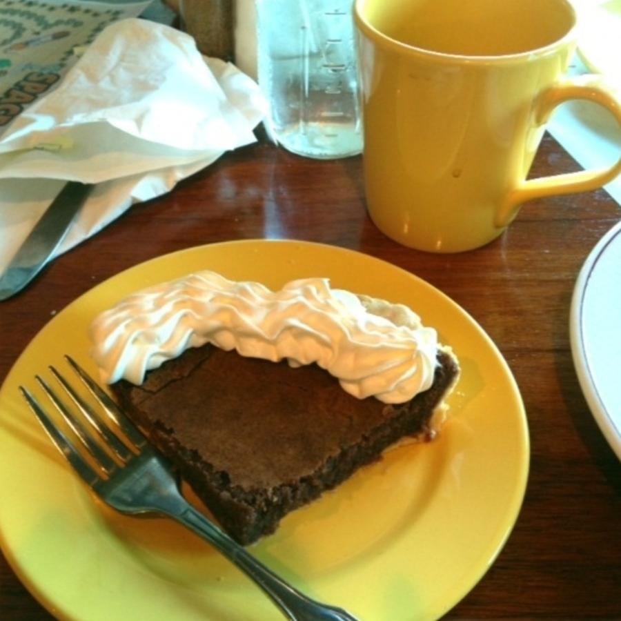 Amanda Karas Loebach's photo of Indulge in Relish's Chocolate Chess Pie