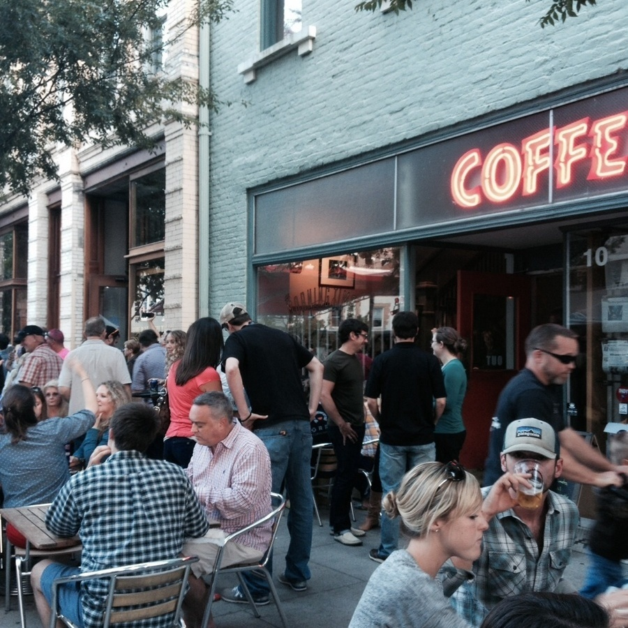 Emma Yacovelli's photo of People Watch with your Morning Times Coffee and Fare