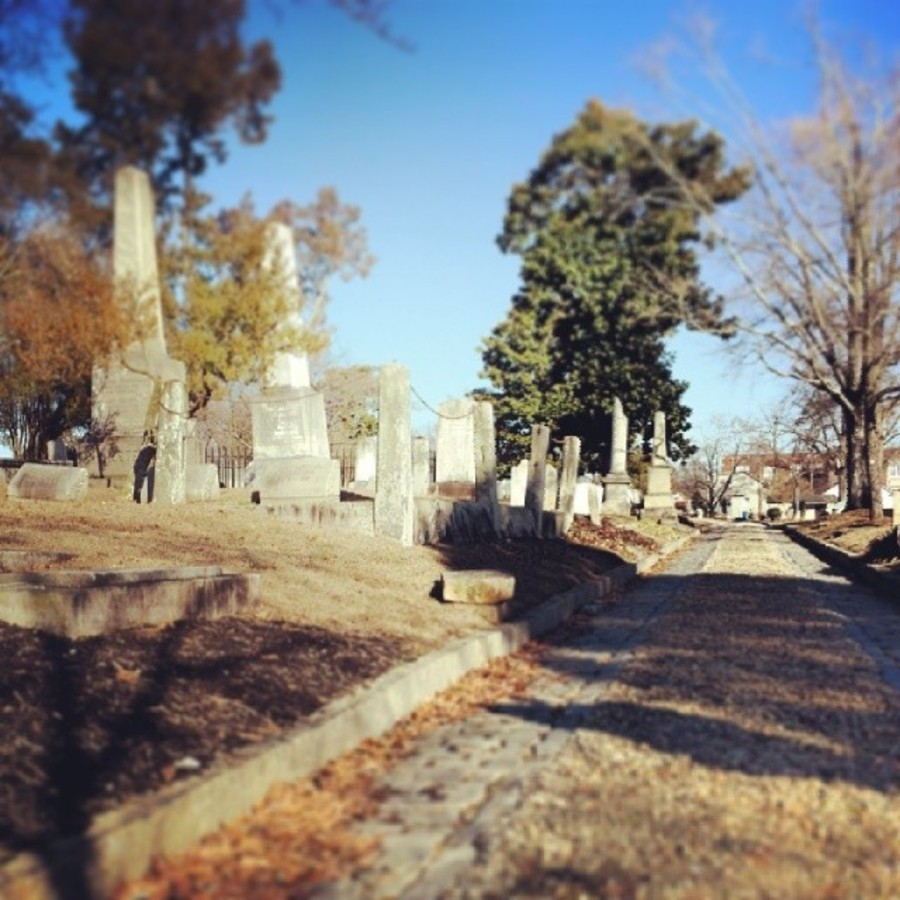 Roam Raleigh's Oldest Cemetery at Raleigh City Cemetery