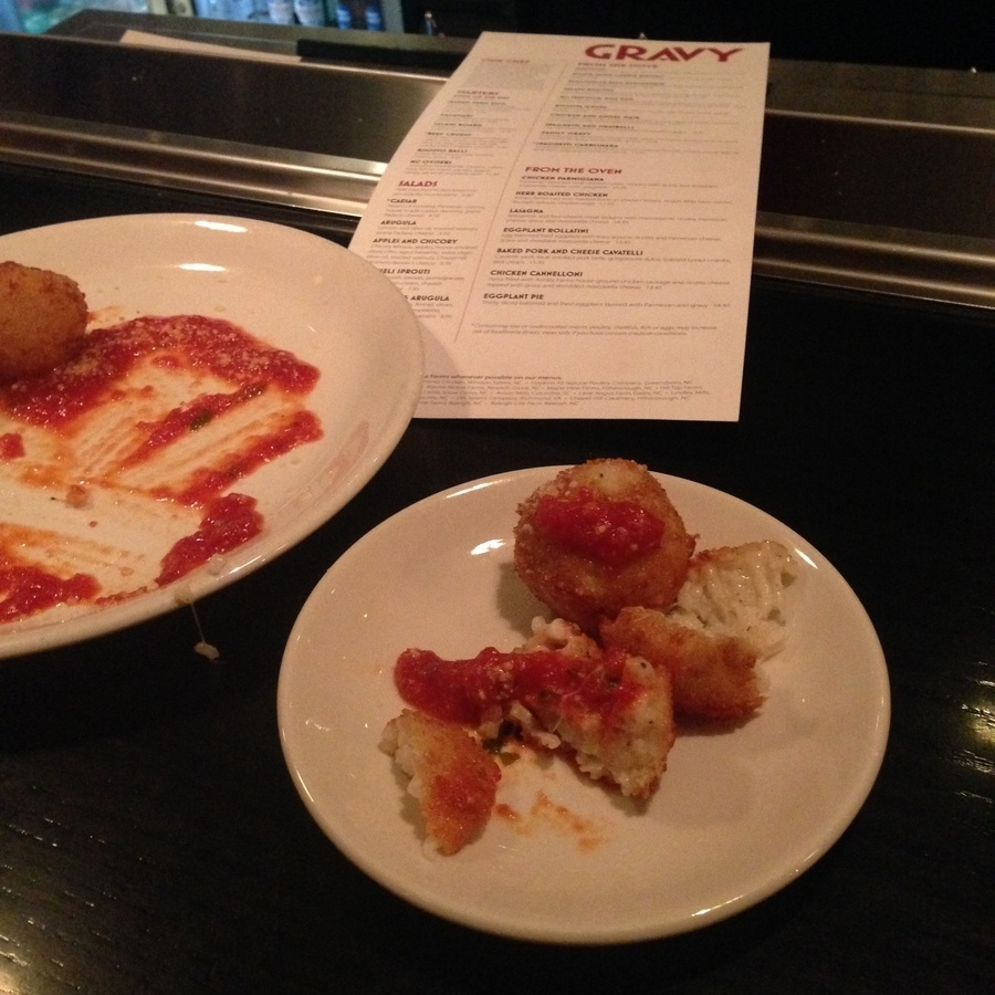 Heather Ford's photo of Get Risotto Cakes at Gravy