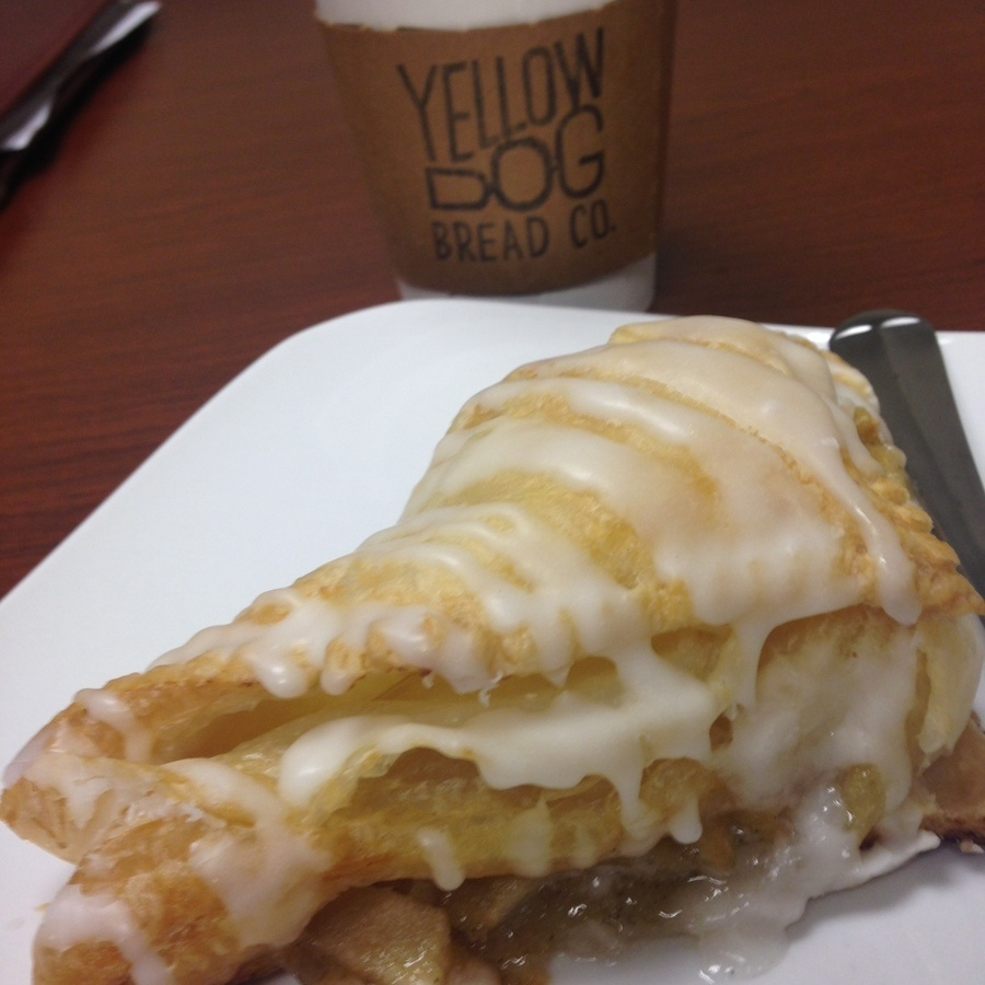 Amanda Bittner's photo of Enjoy Baked Goods & Coffee at Yellow Dog Bread Co.