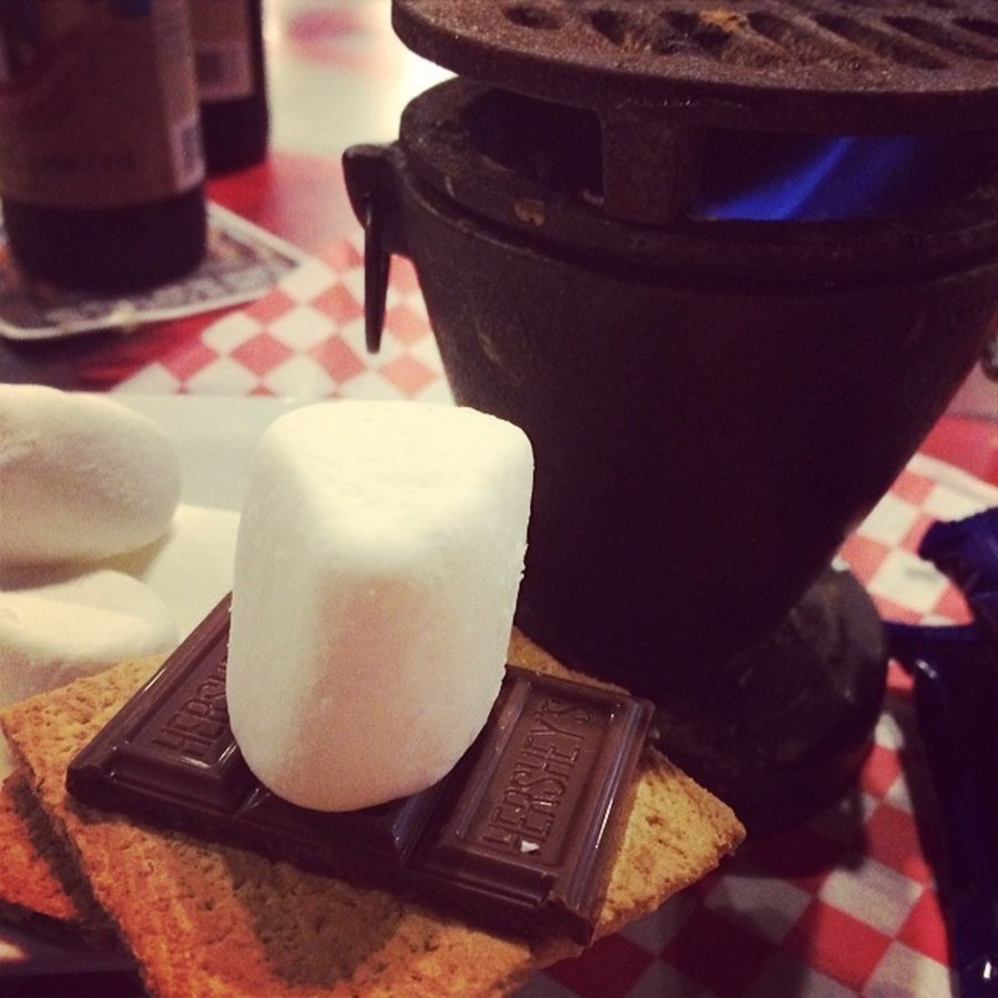 Melt S'mores at Your Table and Get Toasty at Backyard Bistro
