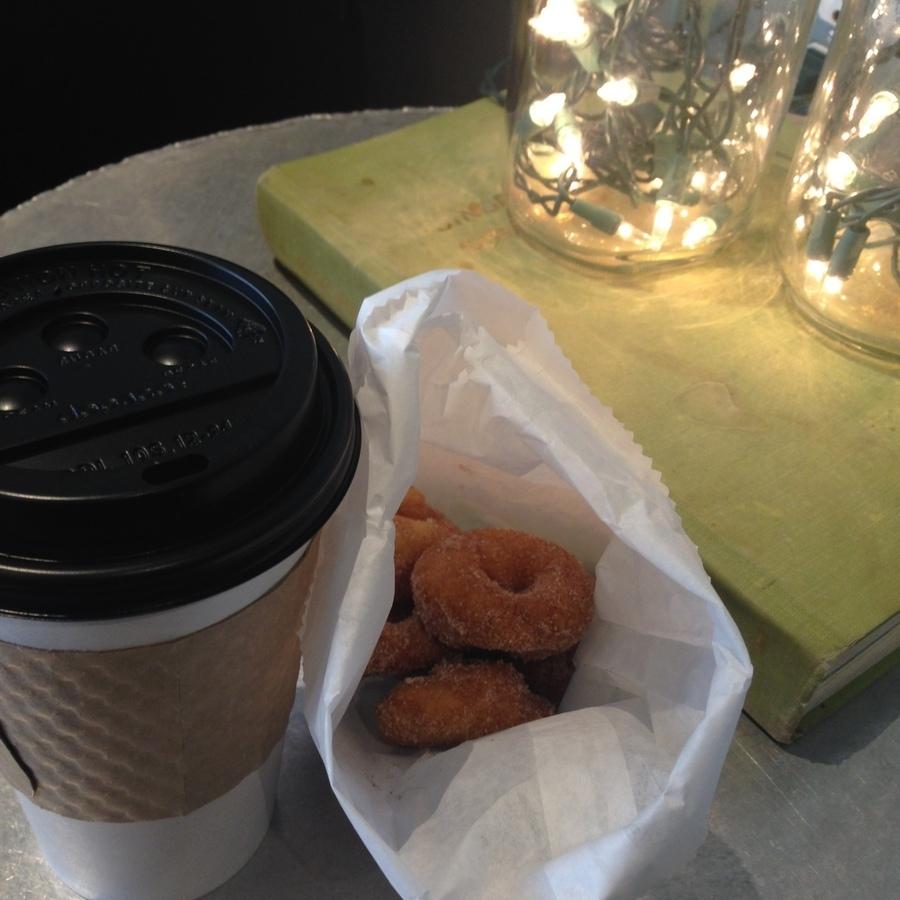 Amanda Bittner's photo of Savor Tasty Coffee & Mini Donuts at Sola