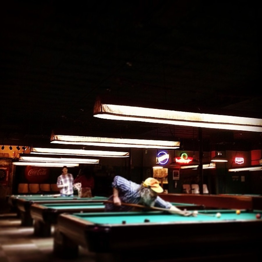 Play a Classic Game of 9-Ball  at Green Room