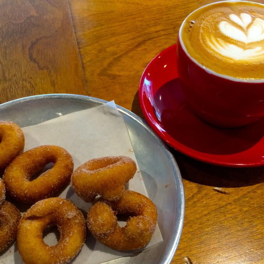 Jacob Chitwood's photo of Savor Tasty Coffee & Mini Donuts at Sola