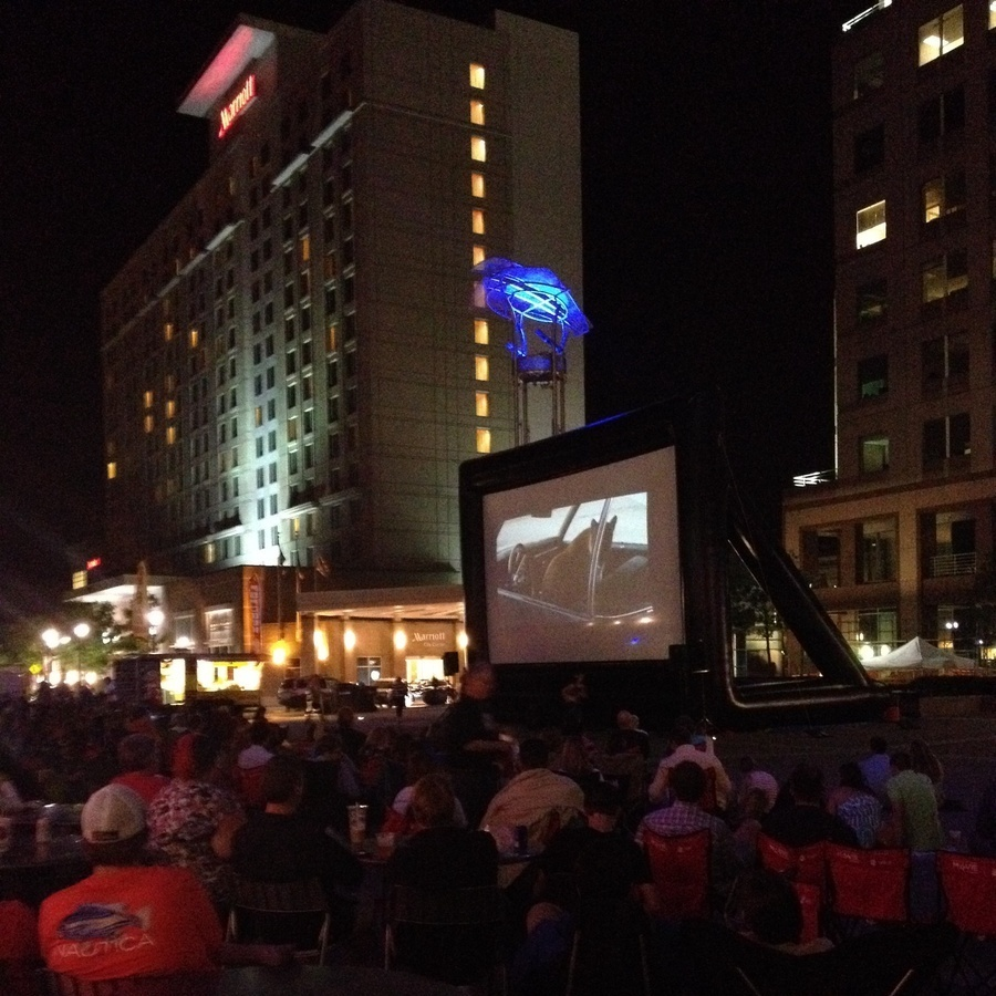 Alicia Midland's photo of Sit Under the Stars at the Flashback Friday Movie Series