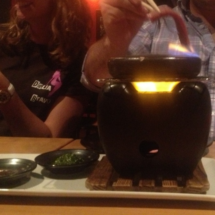 Stephanie Kretschmer's photo of Cook Ishiyaki BBQ at Your Table