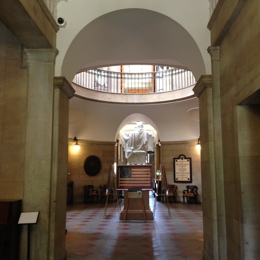 Amanda Bittner's photo of Experience History: Tour the NC State Capitol Building