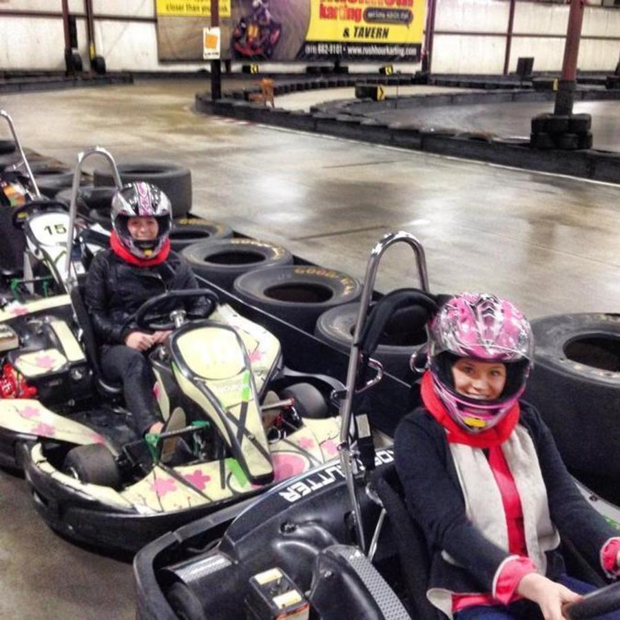 Allyssa B Newton's photo of Rev Your Engine at Rush Hour Karting