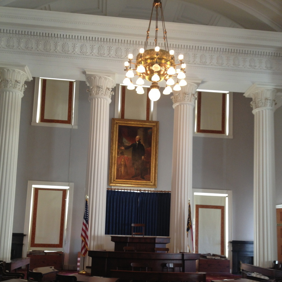 Stephanie Kretschmer's photo of Experience History: Tour the NC State Capitol Building