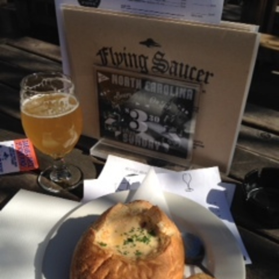 Angela Hahn's photo of Start a Beer Drinking Journey at The Flying Saucer