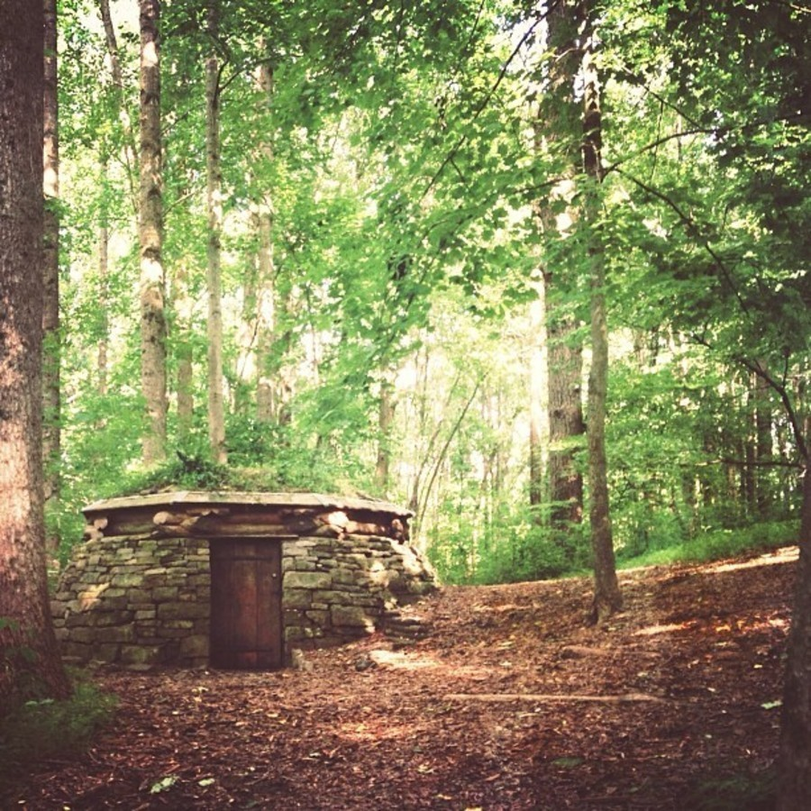Check Out Raleigh's Hidden Hobbit House at North Carolina Museum of Art