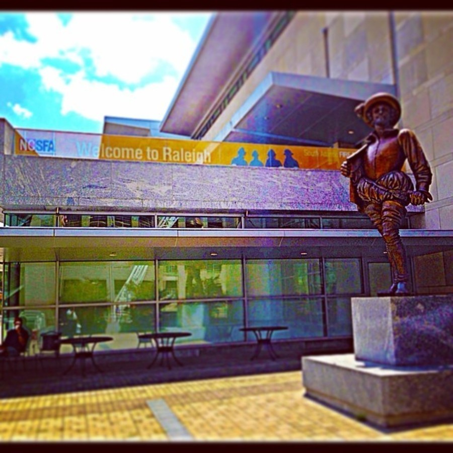 Love Your City: DT Raleigh's Self-Guided Walking Tour Raleigh Convention Center