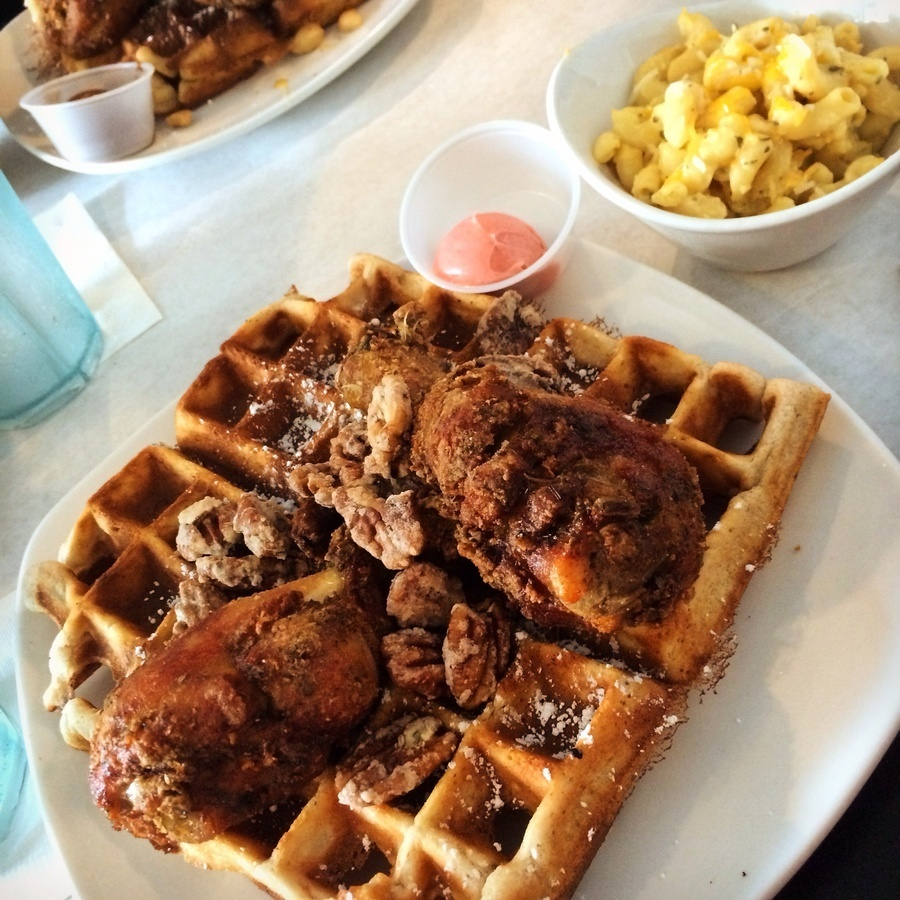 Lauren Ulmer's photo of NOW REOPEN: Dame's Chicken and Waffles