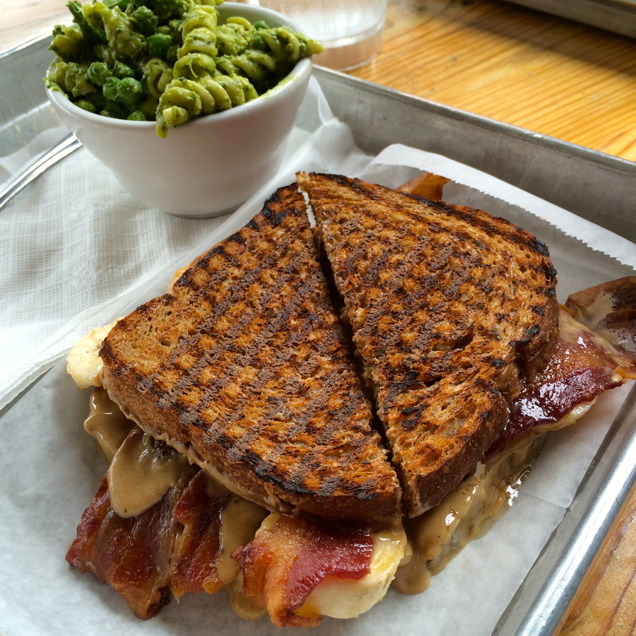 Jacob Chitwood's photo of Elvis's Peanut Butter, Bacon, and Banana Sandwich