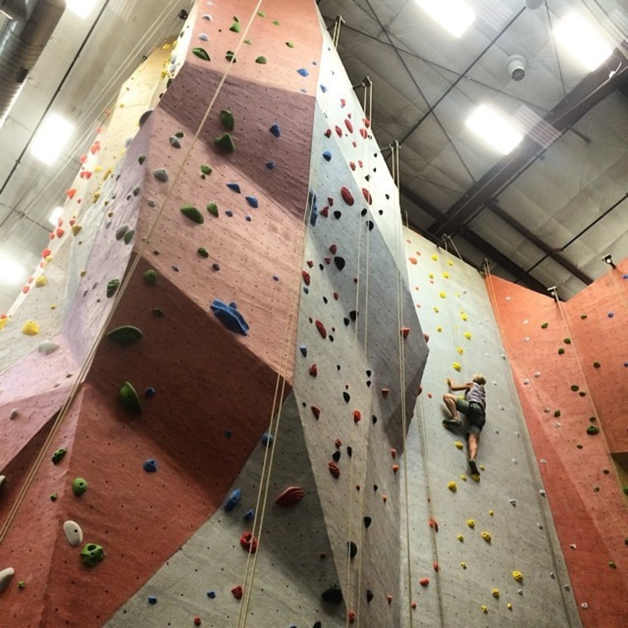 Take a Rock Climbing Class at TRC Triangle Rock Club