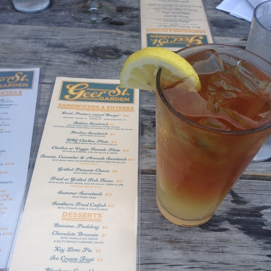 Amanda Bittner's photo of Quench Your Thirst with a Durhamite from Geer Street Garden