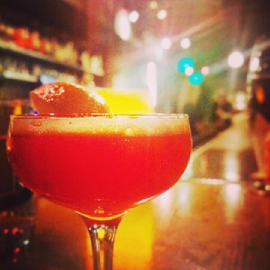 Risk the Bartender's Choice at Fox Liquor Bar at Fox Liquor Bar