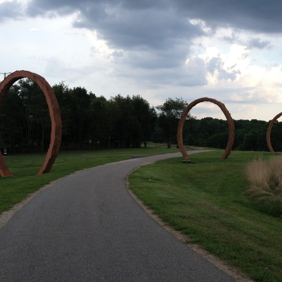 Melissa O'Connor's photo of Bike the Greenway at NC Art Museum