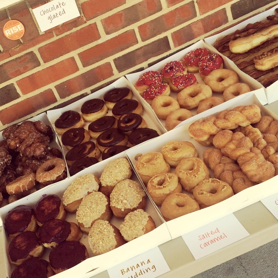 Stephanie Shaner's photo of Taste Rise's Special Biscuits & Donuts
