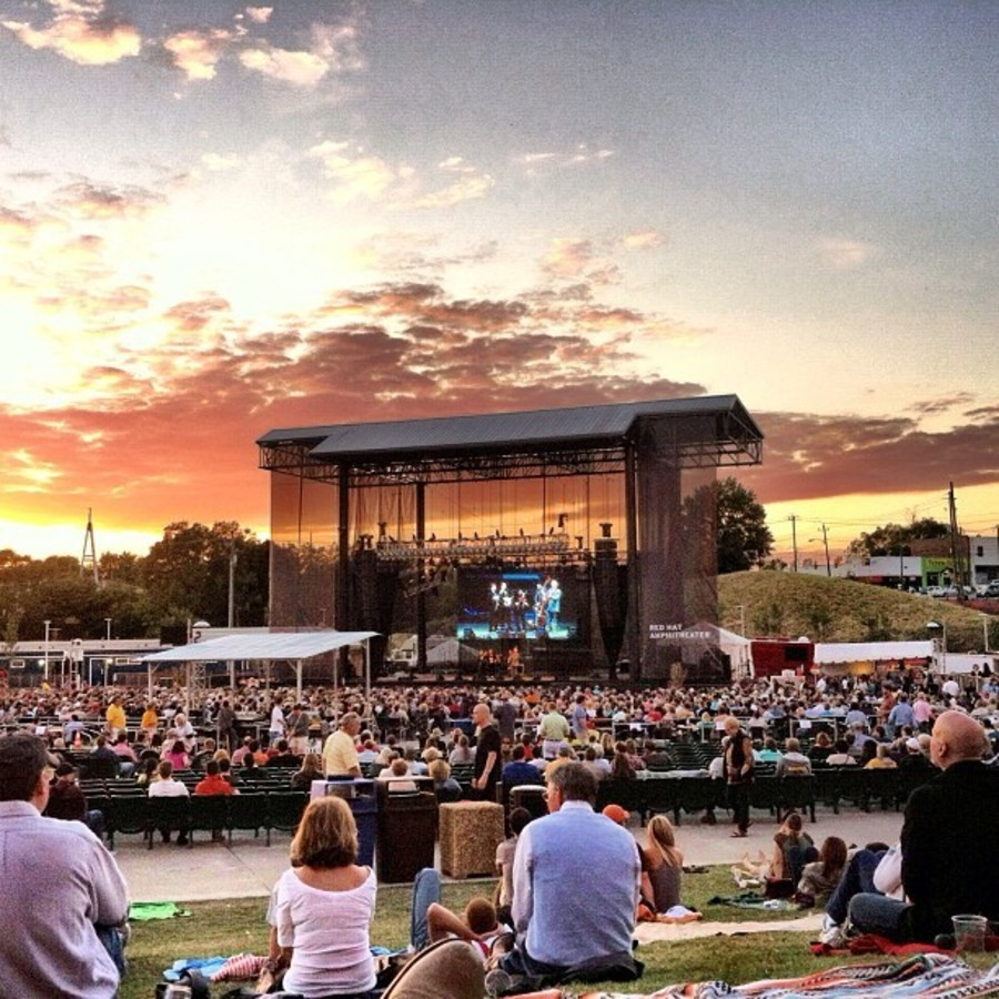Shimmy in Downtown at Wide Open Bluegrass at Red Hat Amphitheater
